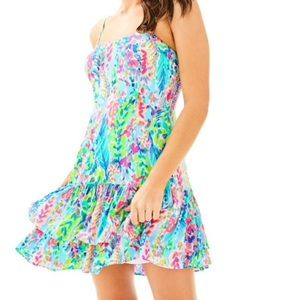 NWT Lilly Pulitzer MORGANA Catch The Wave Dress 2